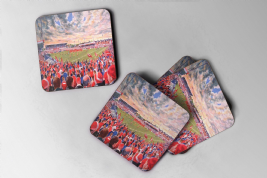 the willows  Coasters, set of four